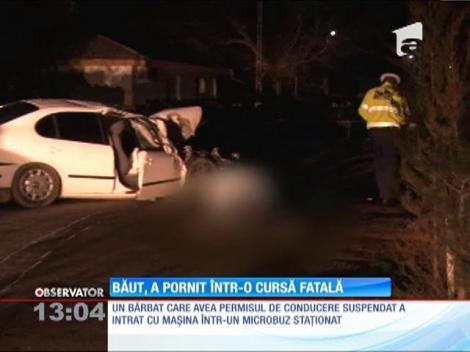 Un bărbat cu permisul de conducere suspendat a pornit într-o cursă fatală