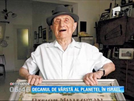 Cel mai bătrân bărbat din lume este un supravieţuitor al lagărului de la Auschwitz