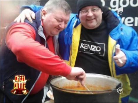 """Costel Tomescu impresionează. Chef Florin Dumitrescu: """"Cine aduce un asemenea prepart, merită apreciat"""""""
