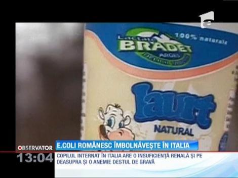 Autorităţile din Italia acuză lipsa de comunicare la nivel european, în cazul copiilor cu sindrom hemolitic-uremic