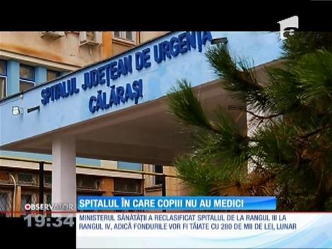 Spitalul în care copiii nu au medici
