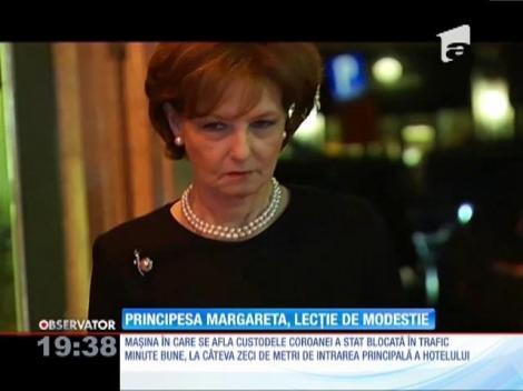 Principesa Margareta a oferit o adevărată lecţie de modestie
