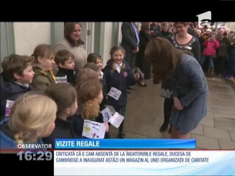 Ducesa de Cambridge, prezentă, din nou, la tot felul de evenimente