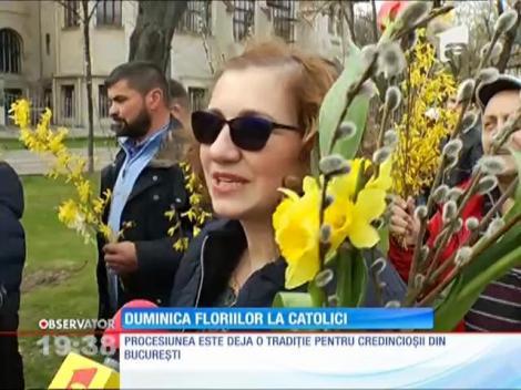 Duminica Floriilor pentru creştinii catolici