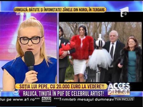 Soţia lui Pepe a strălucit într-o ţinută de 20 de mii de euro la botez!