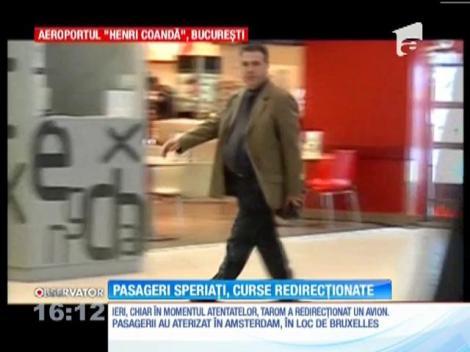 Atentatele au dat peste cap traficul aerian de pe Aeroportul Otopeni