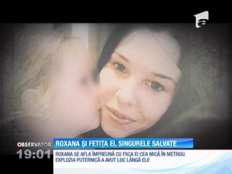 Imaginea terorii: O fetiță își plânge mama rănită în atentate