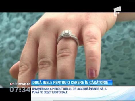 Un american a pierdut inelul de logodnă chiar înainte să i-l pună pe deget iubitei sale