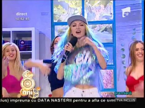 """E nebunie!  Andreea Bălan a lansat piesa și dansul """"Zizi"""""""