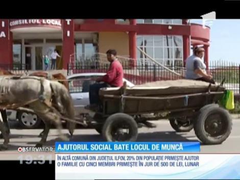 Mulţi români preferă ajutorul social în schimbul unui serviciu plătit