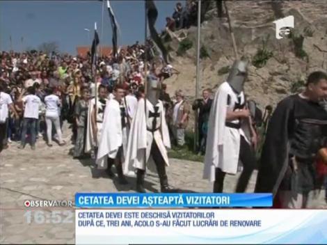 Cetatea Devei a renăscut, după 3 ani de renovări