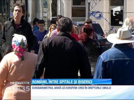 În România numărul credincioşilor practicanţi depăşeşte 90%