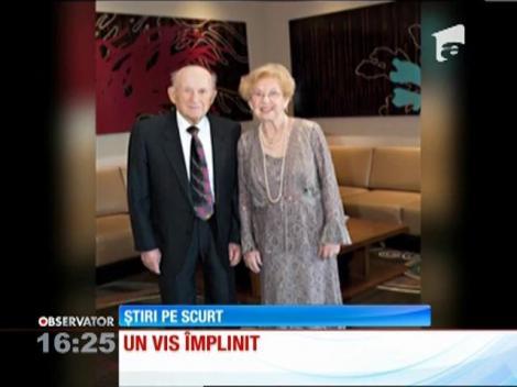 Cel mai mare vis al unei supravieţuitoare a Holocaustului, pe cale să i se împlinească