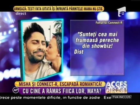 Connect-R şi Misha, escapadă romantică pe o insulă exotică