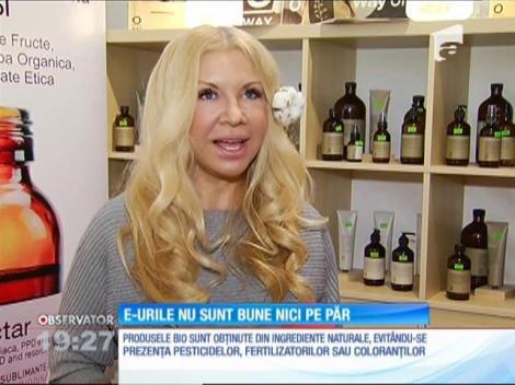 Românii vor bio şi în produsele cosmetice sau în vopseaua de păr