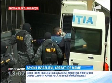 Israelienii care au spionat pe apropiaţii Laurei Codruţa Kovesi vor să fie eliberați