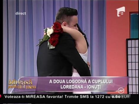 Emoții și lacrimi! Ionuț, cuvinte fermecătoare de iubire pentru Loredana!