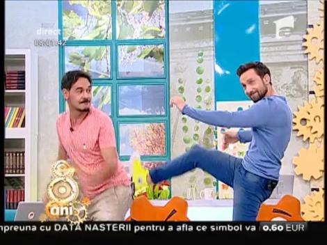 """Circul s-a mutat la """"Neatza""""! Răzvan și Dani s-au transformat în clovni!"""