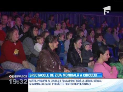 Spectacole de Ziua Internaţională a Circului