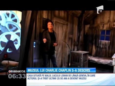 Casa lui Charlie Chaplin din Geneva a fost transformată în muzeu