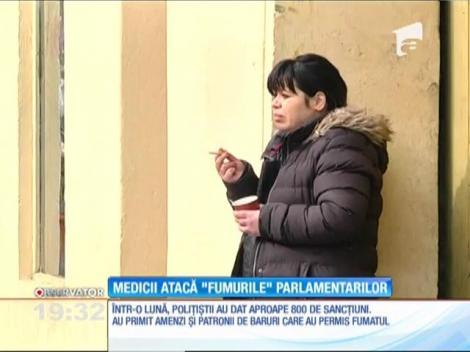 Medicii ies la atac după ce parlamentarii au anunţat modificări la legea fumatului