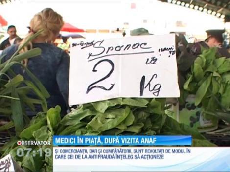Inspectorii ANAF au luat la puricat  femeile care vând zarzavat în pieţele din Târgu Jiu