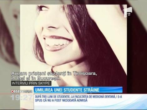O tânără studentă din Irlanda cere daune de 100.000 de euro pentru că a fost umilită de Universitatea de Medicină din Cluj-Napoca