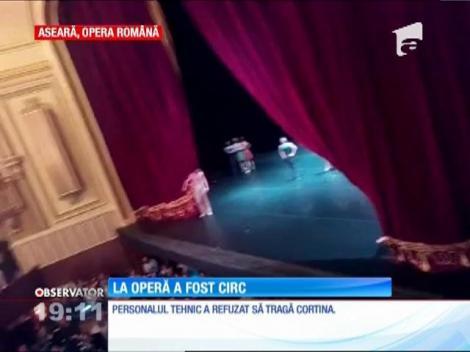 Orchestra de la Opera Naţională din Bucureştia a refuzat să cânte în semn de protest