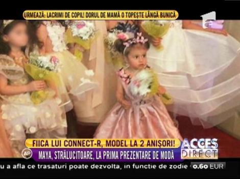 Fetița Mishei și a lui Connect-R, model la 2 anișori