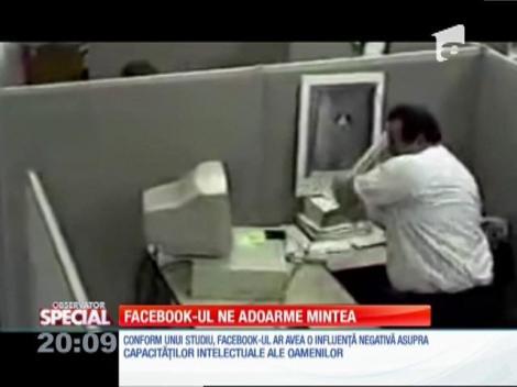 Special! Accesarea zilnică a contului de Facebook adoarme mintea