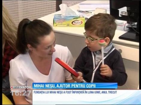 Mihai Neşu, ajutor pentru copii