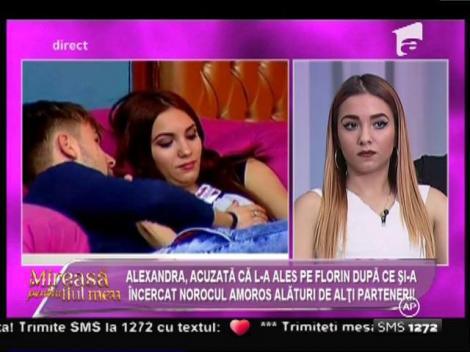 """Declarații incendiare în Casa Mireselor! Florin, despre Alexandra: """"Dacă avea mărimea 50 de sutien, poate Vlăduț avea pe ce să pună mâna!"""""""