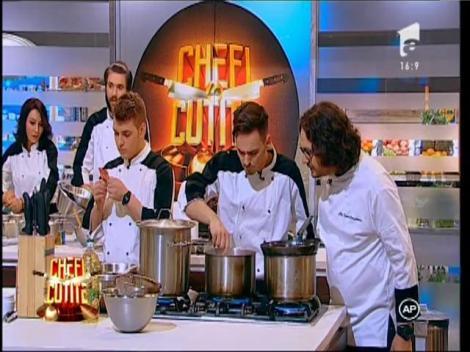 """Chef Florin Dumitrescu, pus în dificultate de vopseaua de ouă: """"Nu am vopsit în viaţa mea ouă"""""""