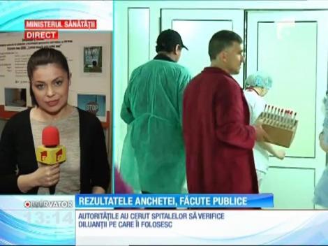 Parchetul General a început urmărirea penală în cazul dezinfectanţilor diluaţi din spitale