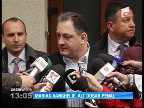Marian Vanghelie, urmărit penal pentru două infracţiuni de abuz în serviciu