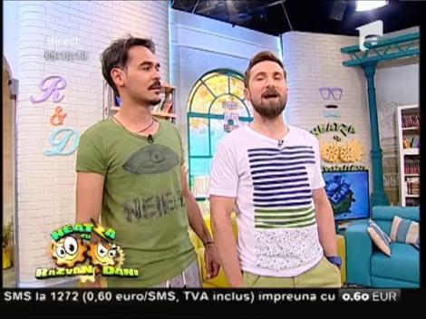 """Ca șoarecele și pisica! Răzvan și Dani, discuție aprinsă: """"- Ai față de salariu minim pe economie!"""" """"- Tu la Operă ai întrebat unde se vând semințele!"""""""