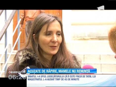Anamaria Nedelcu aşteaptă în continuare să i se acorde custodia exclusivă a fiului ei de şase ani