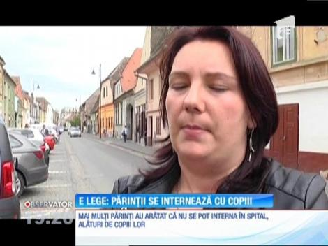 Revolta părinţilor de la Spitalul de Pediatrie din Sibiu s-a lăsat cu demisia managerului