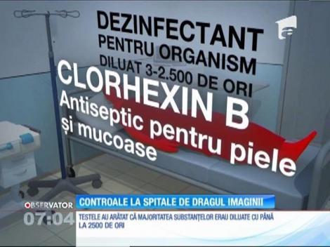 Controale la spitale de dragul imaginii