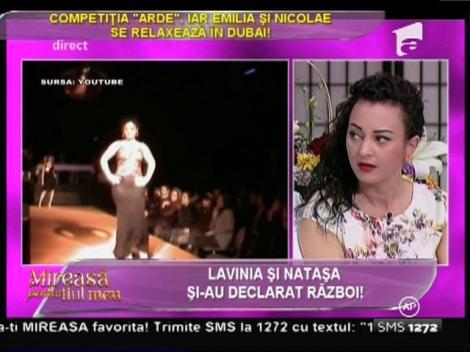 Veleitățile de model ale Laviniei, contestate de Cătălin