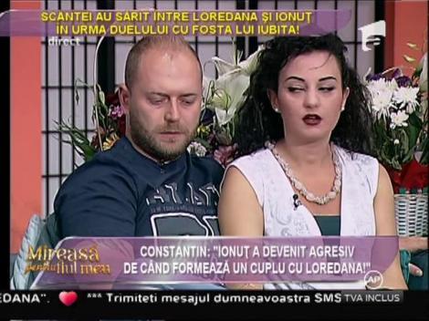 """Constantin: """"Ionuţ a devenit agresiv de când formează un cuplu cu Loredana!"""""""