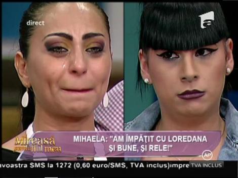 """Mihaela, cu ochii în lacrimi: """"Loredana mi-a fost ca o surioară indiferent de ce s-a întâmplat între noi!"""""""