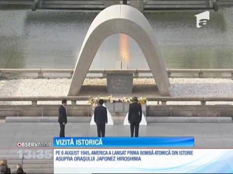 Barack Obama, primul lider american care vizitează Hiroshima, la 71 de ani de la atac