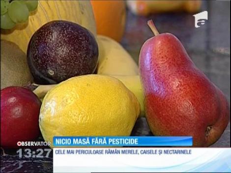 Legumele și fructele care nu sunt din Uniunea Europeană sunt îmbibate cu zeci de pesticide