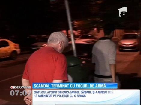 Un scandal între un tată şi fiul său s-a terminat cu focuri de armă, în cartierul Ferentari din Capitală