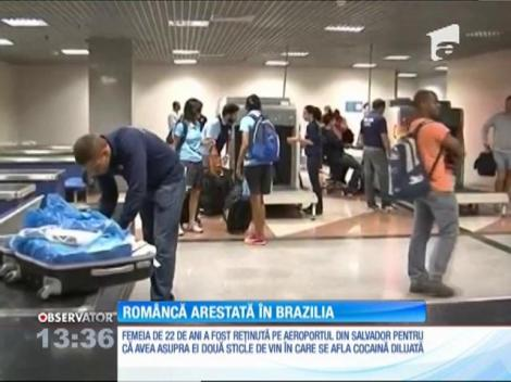 Româncă arestată în Brazilia, după ce Poliţia de Frontieră i-a găsit cocaină în bagaj