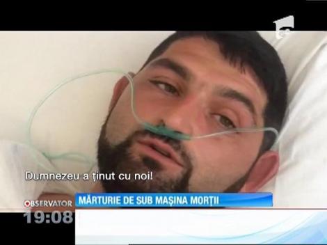"""""""Am văzut moartea cu ochii, dar Dumnezeu a ţinut cu noi!"""" Sunt cuvintele supravieţuitorilor din accidentul cumplit din Constanţa"""