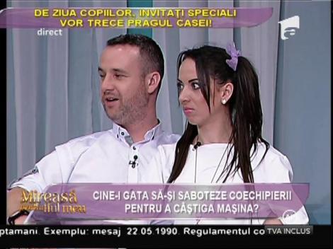 """Cursa pentru maşină! Ionuţ: """"Îl nominalizez pe cel mai slab, chiar dacă-i vorba de Loredana"""""""
