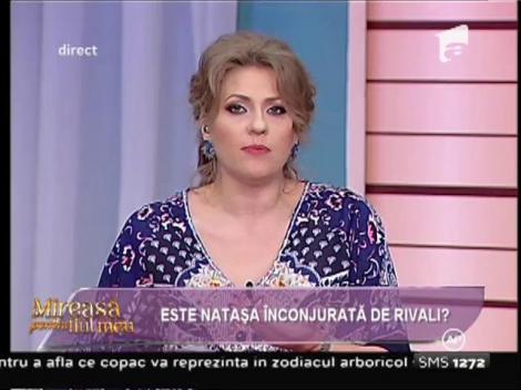 Discuție aprinsă între Nataşa şi Mirela Boureanu Vaida