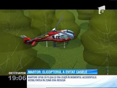 """Martorul tragediei din Republica Moldova: """"Elicopterul a evitat casele"""""""
